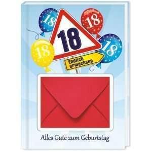 10510 Geldgeschenk zum 18. Geburtstag mit Umschlag für Geldscheine, Gutscheine als Geburtstagsgeschenk Cover