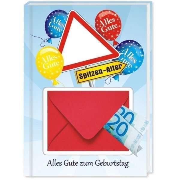 10545 Geldgeschenk zum Geburtstag mit Umschlag für Geldscheine, Gutscheine als Geburtstagsgeschenk Cover