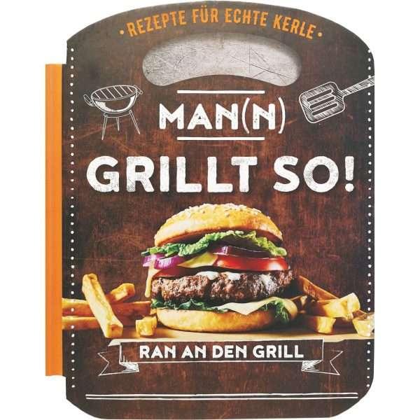 18039 Grillbuch Man(n) grillt so! Buch AV Andrea Verlag andrea-geschenke.de!