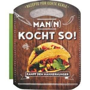 18040 Kochbuch Man(n) kocht so! Buch AV Andrea Verlag andrea-geschenke.de!