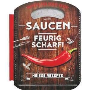 18041 Grillbuch Saucen feurig scharf! Buch AV Andrea Verlag andrea-geschenke.de!