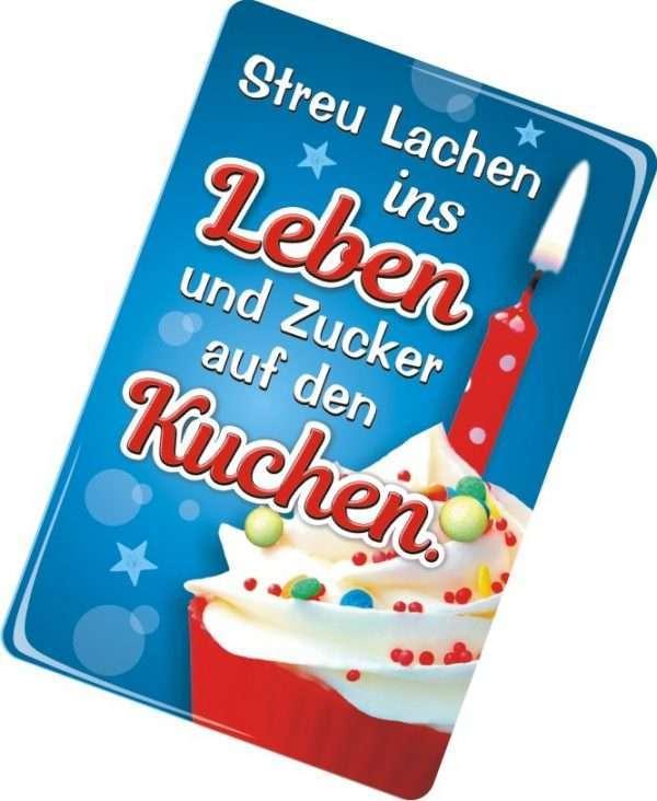 24003 Glückwunschkarte mit Magnet und Umschlag zum Geburtstag für Frauen