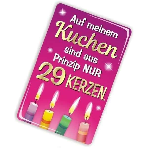 24008 Geburtstagskarte für Frauen Glückwunschkarte Grußkarte mit Magnet und Umschlag, Magnet AV Andrea Verlag andrea-geschenke.de!