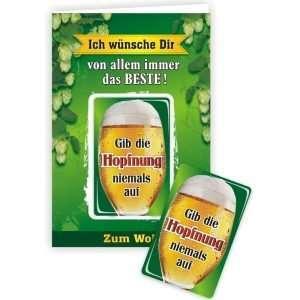 24019 Geburtstagskarte Ich wünsche dir von allem nur das Beste, gib die Hopfnung niemals auf Glückwunschkarte Grußkarte mit Magnet und Umschlag AV Andrea Verlag andrea-geschenke.de!