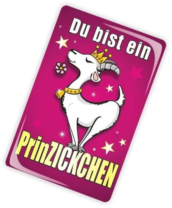 Die Glückwunschkarte zum Geburtstag mit Magnet und Umschlag Du bist ein Prinzickchen