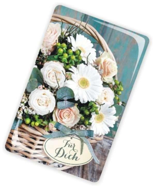 Die Glückwunschkarte zum Geburtstag mit Magnet und Umschlag zum Geburtstag Ein kleines Dankeschön