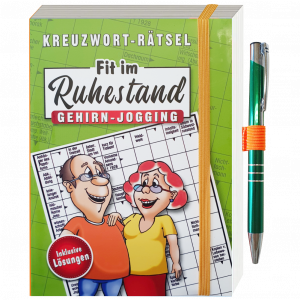 Kreuzwortraetsel-fit-im-Ruhestand-Gehirnjogging-gruen-mit-Kugelschreiber-Rentner-Senioren-Ratebuch-andrea-geschenke.de