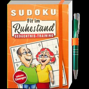 Sudoku-Fit-im-Ruhestand-Gedaechtnistraining-rot-Raten-Ratebuch-mit-Kugelschreiber-Rentner-Senioren-andrea-geschenke.de