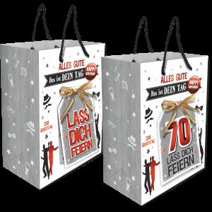 2Stk.-edle-Geschenktueten-Serie-Alles-Gute-Das-ist-Dein-Tag-hochwertige-Geschenktaschen-mit-Glueckwunschkarte-fuer-Maenner-70-neutral-Andrea-Verlag-andrea-verlag.de