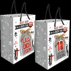 2Stk.-edle-Geschenktueten-Serie-Alles-Gute-Das-ist-Dein-Tag-hochwertige-Geschenktaschen-mit-Glueckwunschkarte-mit-Bastschleife-fuer-Maenner-18-neutral-Andrea-Verlag-andrea-verlag.de-2