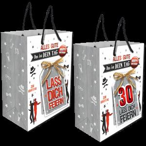 2Stk.-edle-Geschenktueten-Serie-Alles-Gute-Das-ist-Dein-Tag-hochwertige-Geschenktaschen-mit-Glueckwunschkarte-mit-Bastschleife-fuer-Maenner-30-neutral-Andrea-Verlag-andrea-verlag.de