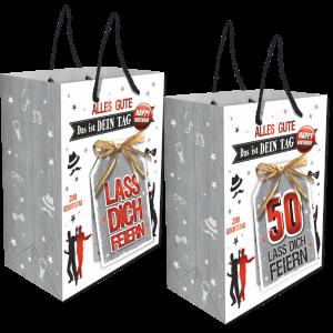 2Stk.-edle-Geschenktueten-Serie-Alles-Gute-Das-ist-Dein-Tag-hochwertige-Geschenktaschen-mit-Glueckwunschkarte-mit-Bastschleife-fuer-Maenner-50-neutral-Andrea-Verlag-andrea-verlag.de_