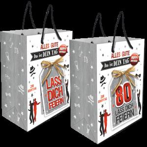 2Stk.-edle-Geschenktueten-Serie-Alles-Gute-Das-ist-Dein-Tag-hochwertige-Geschenktaschen-mit-Glueckwunschkarte-mit-Bastschleife-fuer-Maenner-80-neutral-Andrea-Verlag-andrea-verlag.de