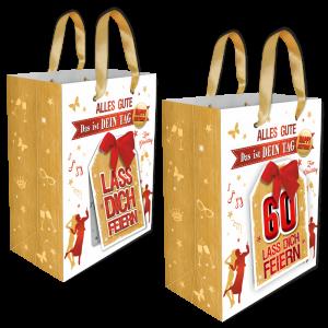 2Stk.-edle-Geschenktueten-Serie-Alles-Gute-Das-ist-Dein-Tag-hochwertige-Geschenktaschen-mit-Glueckwunschkarte-mit-Schleife-fuer-Frauen-60-neutral-Andrea-Verlag-andrea-verlag.de_