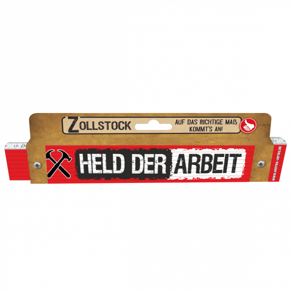 30001 Zollstock Held der Arbeit AV Andrea Verlag andrea-geschenke.de!