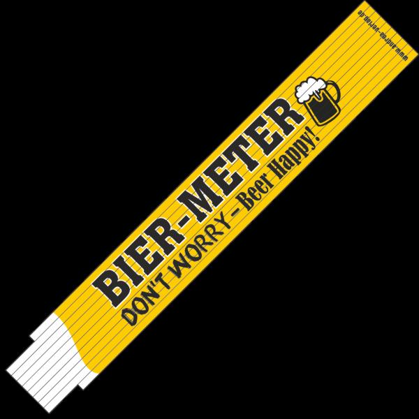 30023 Bier-Meter - Don't worry-Beer happy! AV Andrea Verlag andrea-geschenke.de!