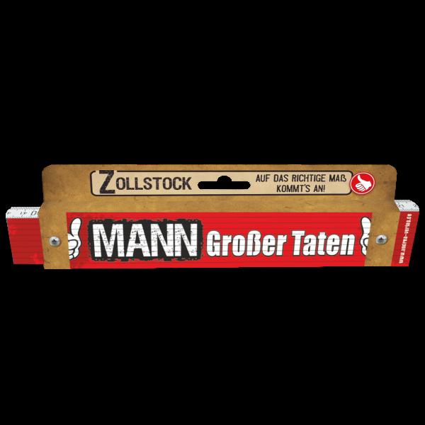 30038 Zollstock Mann großer Taten Pappe AV Andrea Verlag andrea-geschenke.de!