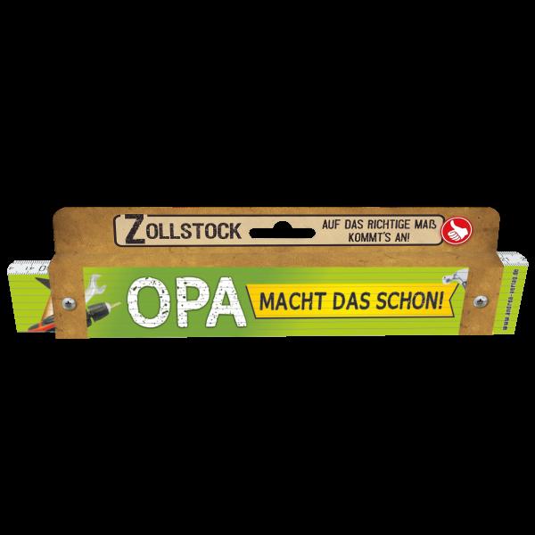 30043 Zollstock Opa macht das schon! Pappe AV Andrea Verlag andrea-geschenke.de!