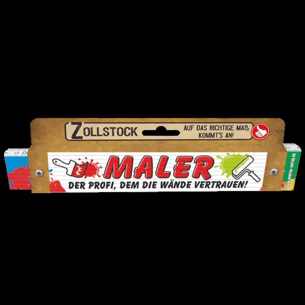 30053 Zollstock Maler - Der Profi, dem die Wände vertrauen! Pappe AV Andrea Verlag andrea-geschenke.de!
