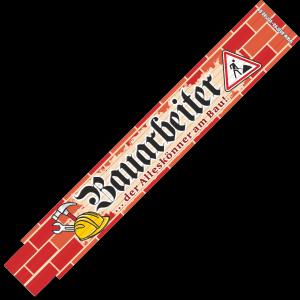 30054 Zollstock Bauarbeiter ... der Alleskönner am Bau! AV Andrea Verlag andrea-geschenke.de!
