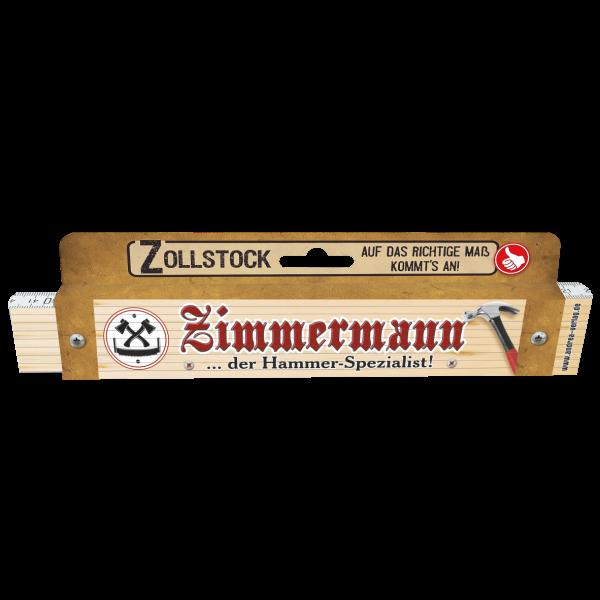 30056 Zollstock Zimmermann ... der Hammer-Spezialist! Pappe AV Andrea Verlag andrea-geschenke.de!