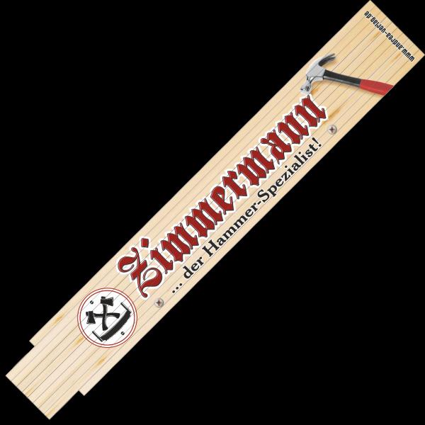 30056 Zollstock Zimmermann ... der Hammer-Spezialist! AV Andrea Verlag andrea-geschenke.de!