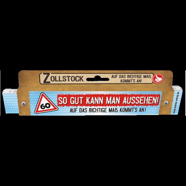 30110 Zollstock So gut kann man aussehen! 60 Pappe AV Andrea Verlag andrea-geschenke.de!