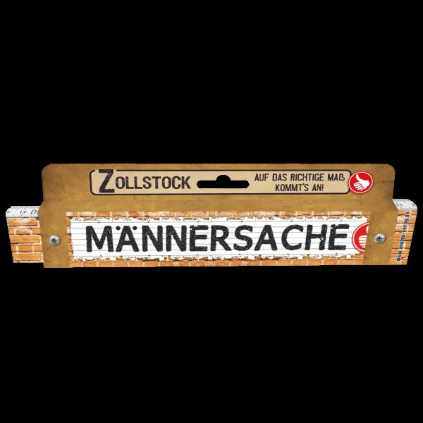 30201 Zollstock Männersache Pappe AV Andrea Verlag andrea-geschenke.de!