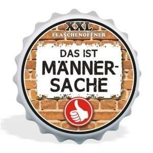 32004 XXL Flaschenöffner Das ist Männersache, Kapselöffner AV Andrea Verlag, andrea-geschenke.de