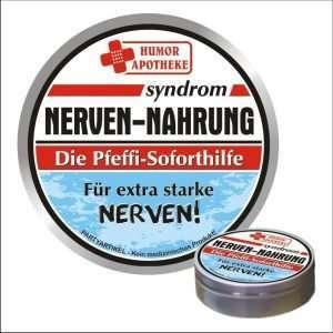32498 Pfefferminzbonbons Nerven-Nahrung - für extra starke Nerven AV Andrea Verlag andrea-geschenke.de!