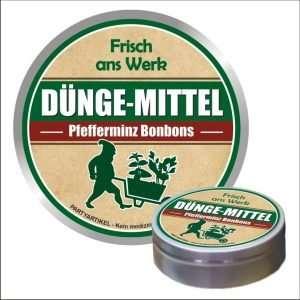 32529 Pfefferminzbonbons Dünge-Mittel - frisch ans Werk AV Andrea Verlag andrea-geschenke.de!