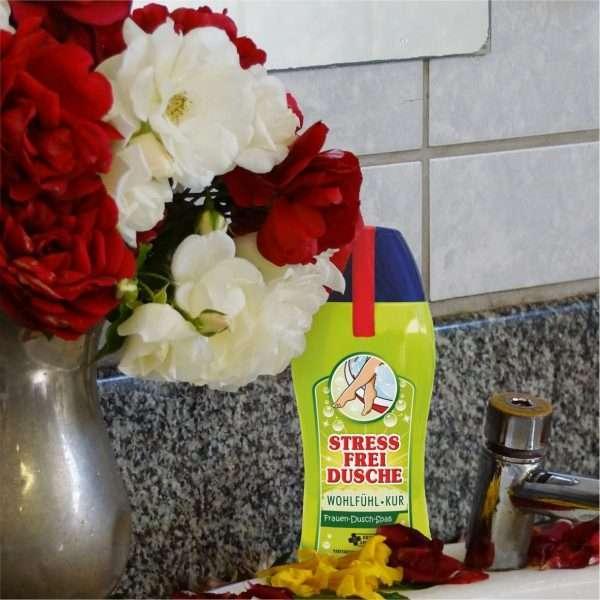 33002 Frauen Duschgel Stress frei Dusche Duschbad Bad AV Andrea Verlag andrea-geschenke.de