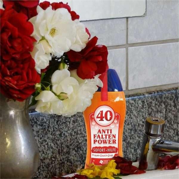 33008 Frauen Duschgel zum 40. Geburtstag Duschbad Bad AV Andrea Verlag andrea-geschenke.de!
