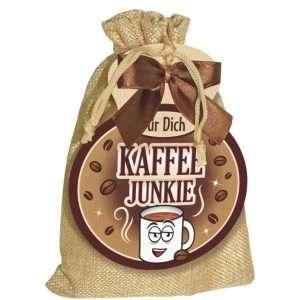 40028 Kaffeesäckchen Kaffee Junkie AV Andrea Verlag andrea-geschenke.de!