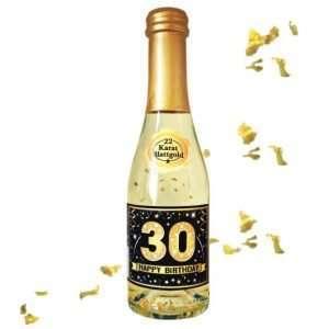 56012 Piccolo mit Blattgold Happy Birthday 30 AV Andrea Verlag andrea-geschenke.de!