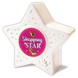 Spardose Sparbüchse Sparschwein Stern Shopping Star