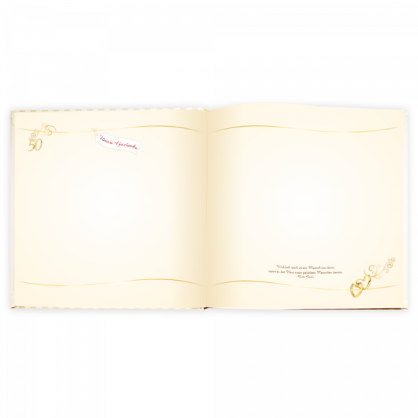 Album-Gaestebuch-Unsere-Goldene-Hochzeit-Fotoalbum-Geschenke-Goldenen-zur-Hochzeit-Seite-2-AV-Andrea-Verlag-andrea-geschenke.de