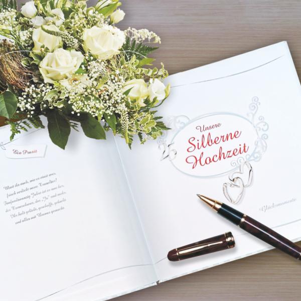 Album-Gaestebuch-Unsere-Silberne-Hochzeit-Fotoalbum-Geschenke-zur-Silbernen-Hochzeit-Aktion-AV-Andrea-Verlag-andrea-geschenke.de