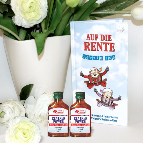 Buch-Auf-die-Rente-fertig-los-Geschenkset-Geschenk-zum-Geburtstag-Rentner-Ruhestand-Sprueche-Gedichte-Witze-Aktion-AV-Andrea-Verlag-andrea-geschenke.de