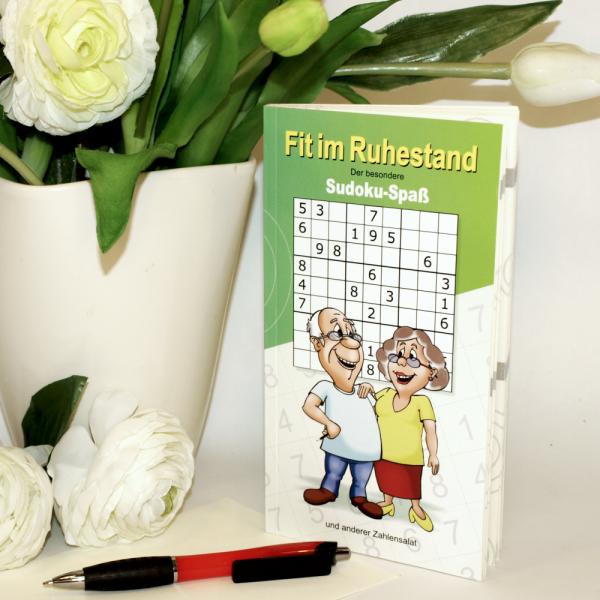 Buch-Fit-im-Ruhestand-Sudoku-Spass-und-anderer-Zahlensalat-Senioren-Alter-Geschenk-zum-Geburtstag-Rentner-Ruhestand-schult-Gehirnzellen-Ausdauer-Aktion-AV-Andrea-Verlag-andrea-geschenke.de