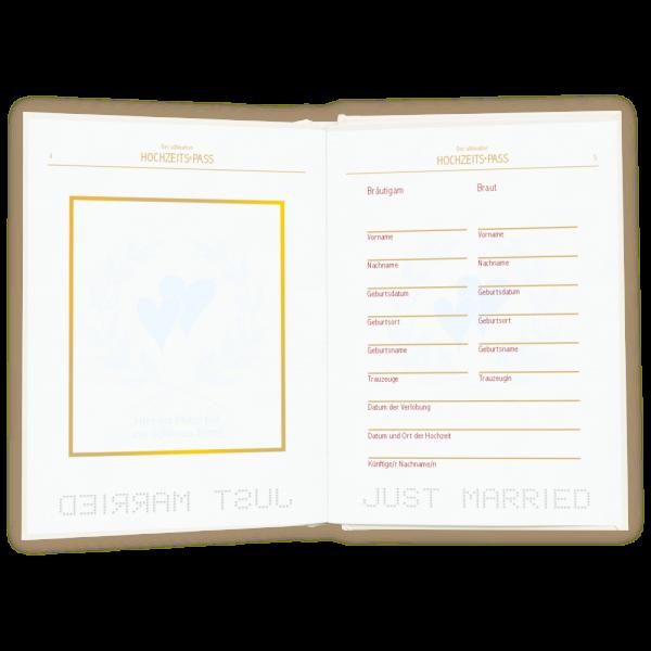 Der-ultimative-Hochzeitspass-Just-Married-Zur-Hochzeit-Zur-Vermaehlung-mit-Eintragseiten-im-Passdesign-Geschenke-zur-Hochzeit-Eintragseite-AV-Andrea-Verlag-andrea-geschenke.de