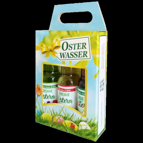 Dreier-Likoerbox-Osterwasser-mit-Likoer-gemischt-Geschenkidee-zu-Ostern-Seitenansicht-AV-Andrea-Verlag-andrea-geschenke.de