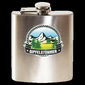Edelstahl-Flachmaenner-Gipfelstuermer-fuer-Wanderer-Bergsteiger-Gipfererklimmer-als-Geschenk-fuer-Maenner-AV-Andrea-Verlag-andrea-verlag.de