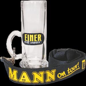 Einer-geht-immer-Glas-am-Band-zum-Maennertag-Vatertag-Herrentag-likoerglas-umhaengeband-schluesselband-maennerparty-maennerrunde-andrea-geschenke.de