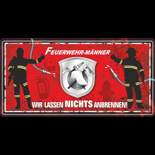 Feuerwehrmaenner-wir-lassen-nichts-anbrennen-Feuerwehrmann-Feuerwehr-Metallschild-Blechschild-Schild-Tuerschild-Maennergeschenk-fuer-Maenner-AV-Andrea-Verlag-andrea-geschenke.de