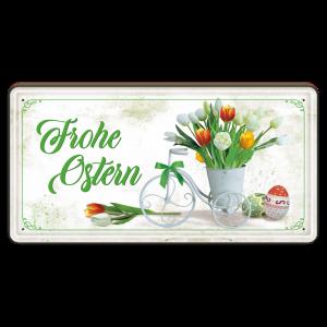 Frohe-Ostern-Tulpen-Metallschild-Blechschild-Schild-Tuerschild-zu-Ostern-Geschenkidee-AV-Andrea-Verlag-andrea-geschenke.de