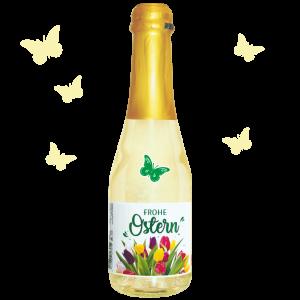 Frohe-Ostern-Tulpen-bunt-Piccolo-Beeren-Perlwein-4-Motive-AV-Andrea-Verlag-andrea-geschenke.de