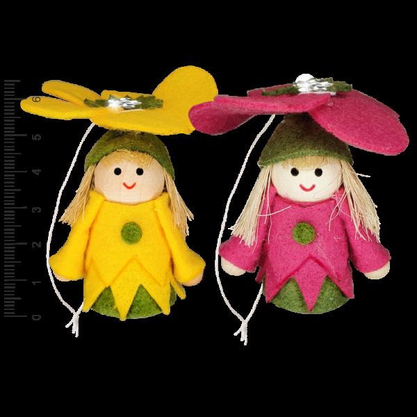 Geschenkbeutel-mit-Blumenmaedchen-Zweier-Set-gelb-pink-zum-Selbstbefuellen-Geschenkverpackung-fuer-Frauen-Blumenkinderzum-Geburtstag-zu-Ostern-AV-Andrea-Verlag-andrea-verlag.de