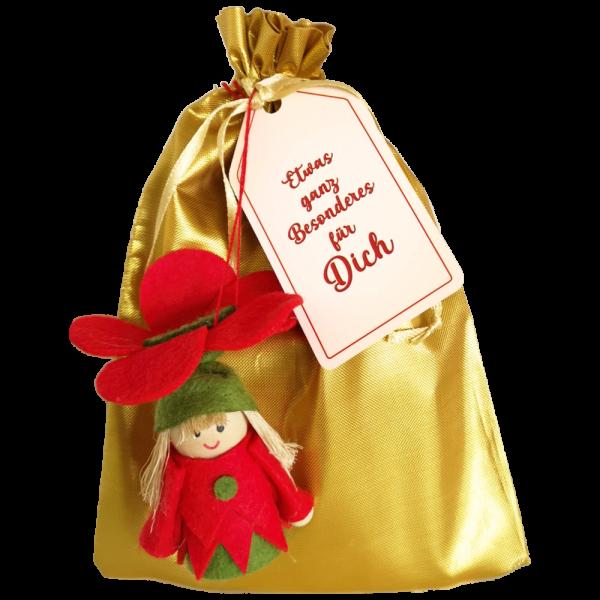 Geschenkbeutel-mit-Blumenmaedchen-Zweier-Set-rot-gruen-zum-Selbstbefuellen-Geschenkverpackung-fuer-Frauen-zum-Geburtstag-zu-Ostern-konfektioniert-AV-Andrea-Verlag-andrea-verlag.de
