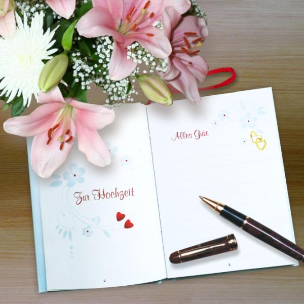 Geschenkbuch-mit-Schlaufe-Zur-Hochzeit-Zur-Vermaehlung-alles-Gute-mit-Eintragseite-fuer-persoenliche-Wuensche-Geschenke-zur-Hochzeit-Aktion-AV-Andrea-Verlag-andrea-geschenke.de